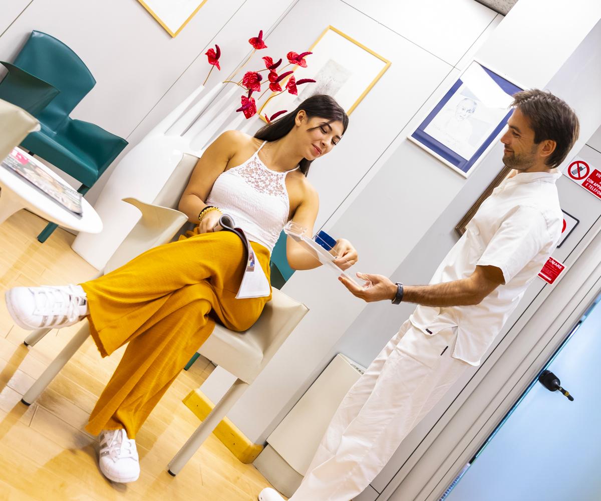 come curiamo i pazienti