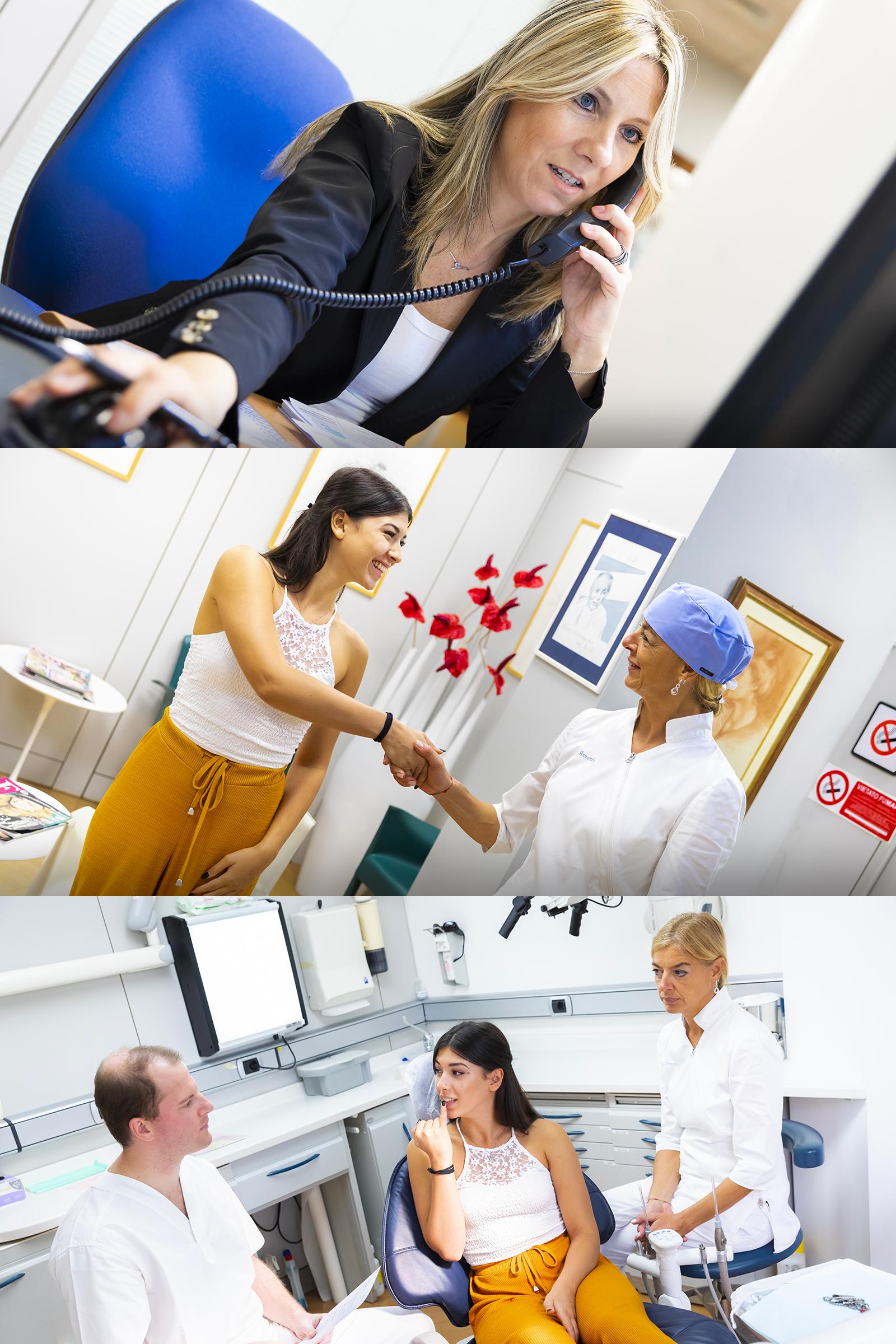 La prima visita è fondamentale per programmare un piano di cure