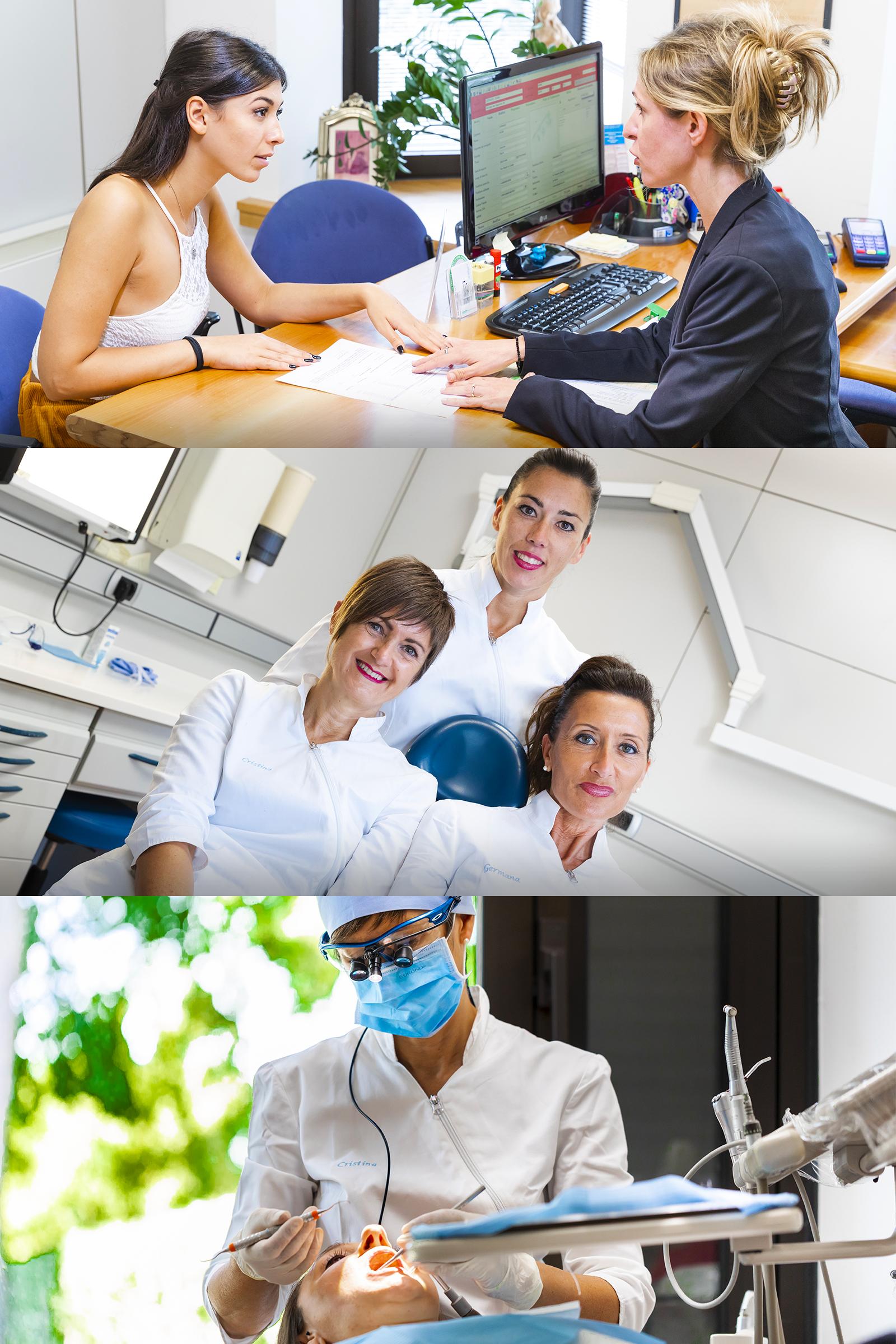 L'igienista dentale preparerà il cavo orale per le successive cure