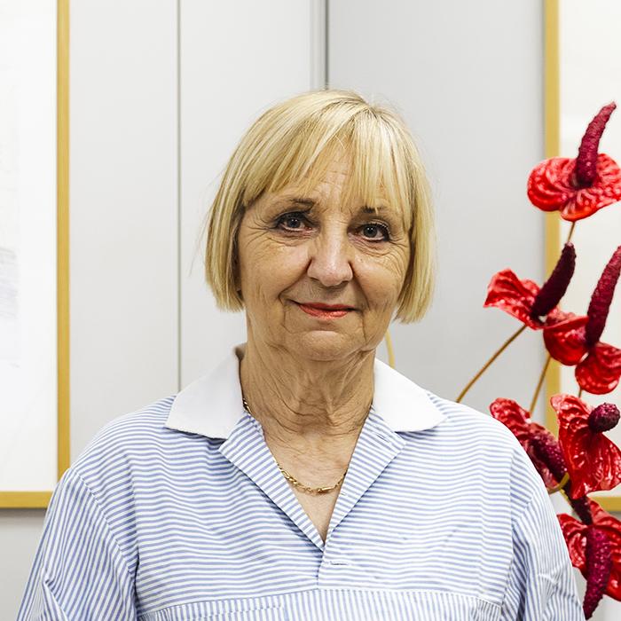 Ivana Nadalin - Responsabile igiene ambienti interni e benessere del personale