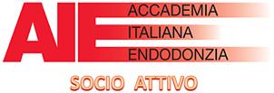 Logo AIE: Accademia Italiana Endodonzia - Socio Attivo