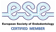 Logo ESE: European Society of Endodontology - Certified Member