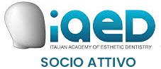 Logo IAED: Italian Academy of Esthetic Dentistry - Socio attivo