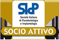 Logo SIDP: Società Italiana di Parodontologia e Impiantologia - Socio Attivo